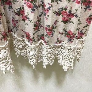 DEB Floral, Lace Hem PS Dress